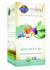 40+岁男用有机植物基复合维生素  Garden of Life 120 粒