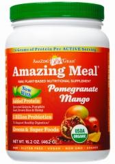 有机神奇石榴芒果营养膳食Amazing Grass 439克,富含蛋白质,益生菌,维生素及抗氧化果蔬
