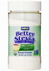 有机零卡路里甜味剂 NOW Better Stevia  113克