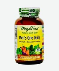 男用每日多种全食维生素Mega Food  90粒