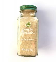 有机大蒜粉 Simply Organic 3.64oz. 103克