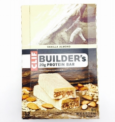 20克高蛋白营养能量棒-香草杏仁Clif Builder's 68克(12条)