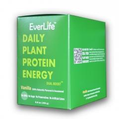 植能蛋白 益+益 香草味 EVERLIFE 植物蛋白奶粉250克/10包 (进口截止期2020/8)