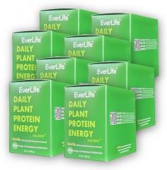 植能蛋白 香草味 EVERLIFE 一箱 24盒,每盒250克/10包,(进口截止期2020/8)